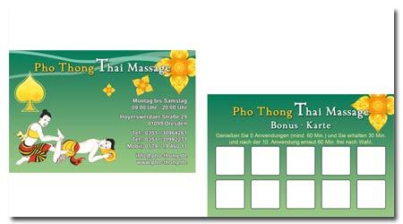 Werbeagentur Dresden Freital Visitenkarten
